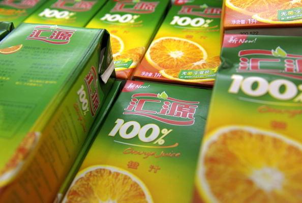 老牌果汁公司汇源被香港交易所摘牌